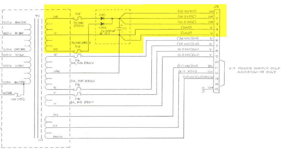 old atari wiring diagram wtb: atari warlords or asteroids power brick - page 2 ... #4